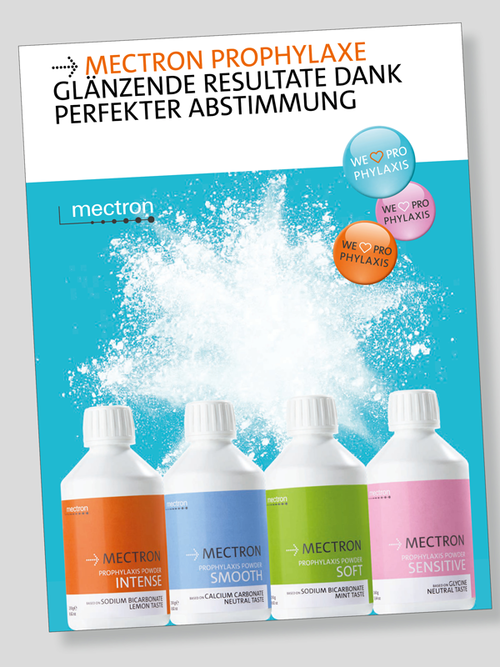 Flyer mectron prophylaxis powders